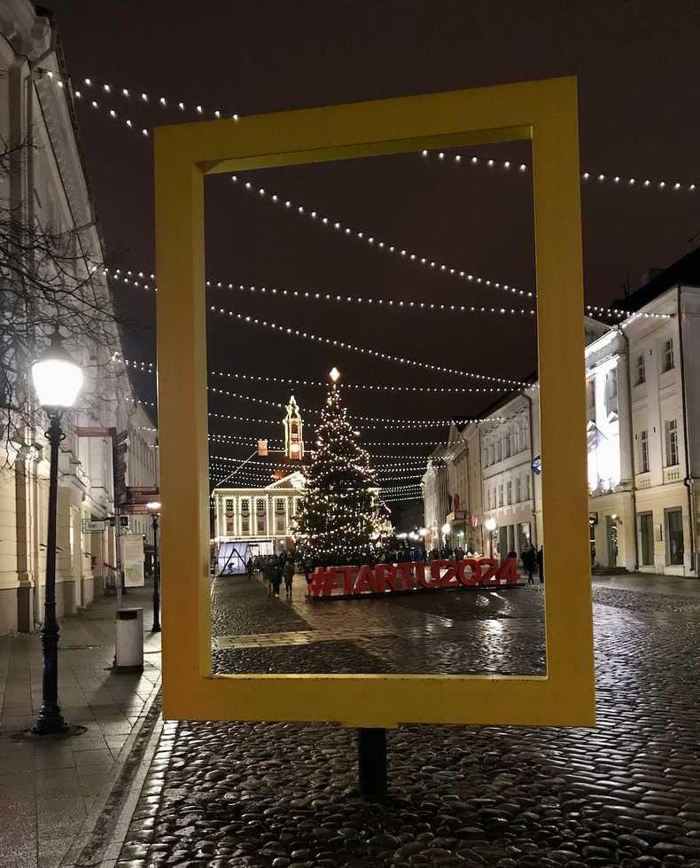 Christmas time in Tartu
