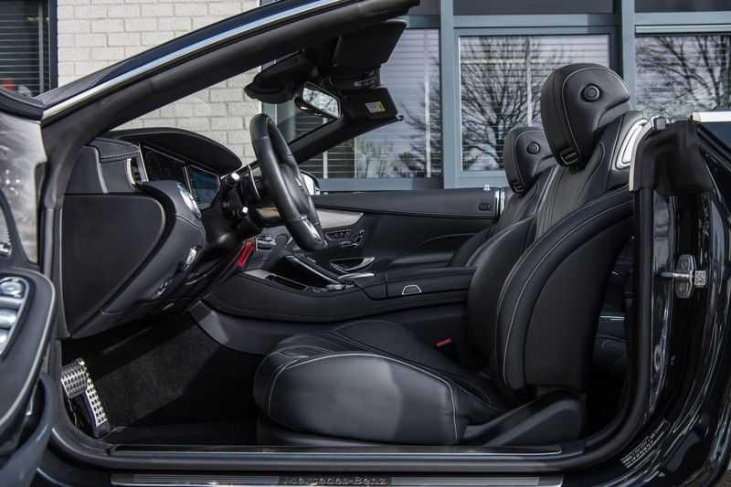 Mercedes-Benz S-Klasse Cabrio 500 , 456 PK, AMG/In/Exterieur, Swarovski, Head/Up, Airscarf, 29DKM, NIEUW!! afbeelding 10