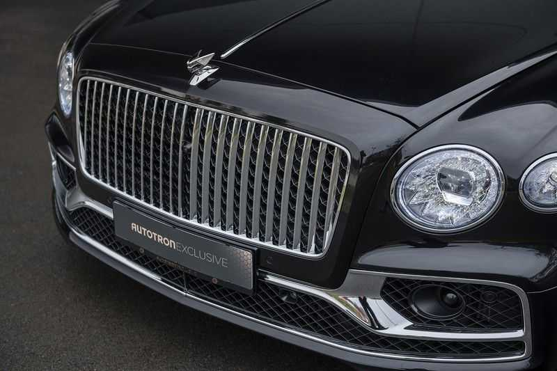 Bentley Flying Spur 6.0 W12 FIRST EDITION MY 2021 NAIM + Mulliner + Touring Spec + Head-Up + Bentley Rotating Display + Onyx Pearl / Beluga + Full Option + afbeelding 15