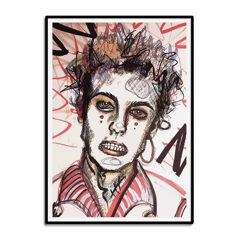 'Minor Irritation' Giclée Art Print
