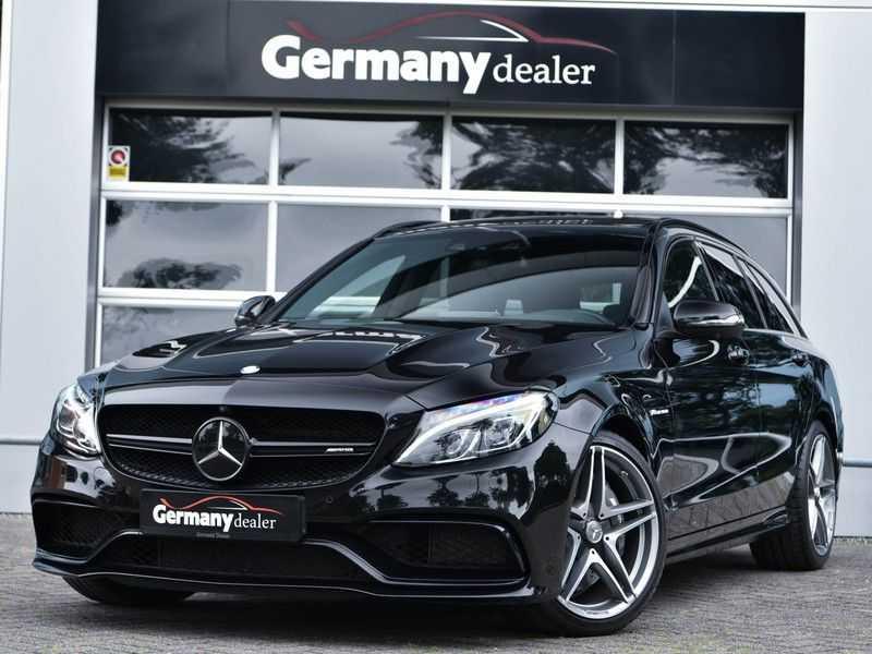 Mercedes-Benz C-Klasse C63 T AMG Perf-Uitlaat Pano Burmester Comfort-Memo HUD Rij-Ast TopView Keyless afbeelding 1