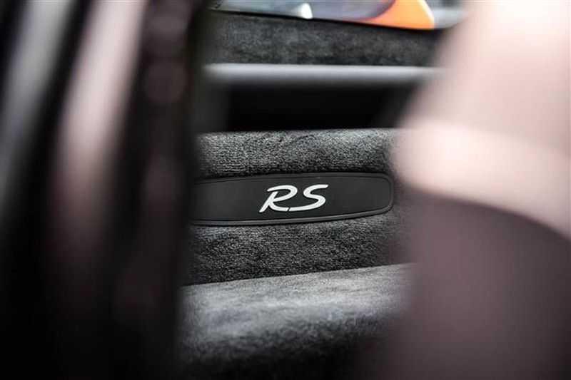 Porsche 911 GT3 RS CARBON SCHAALSTOELEN+ROLKOOI afbeelding 13
