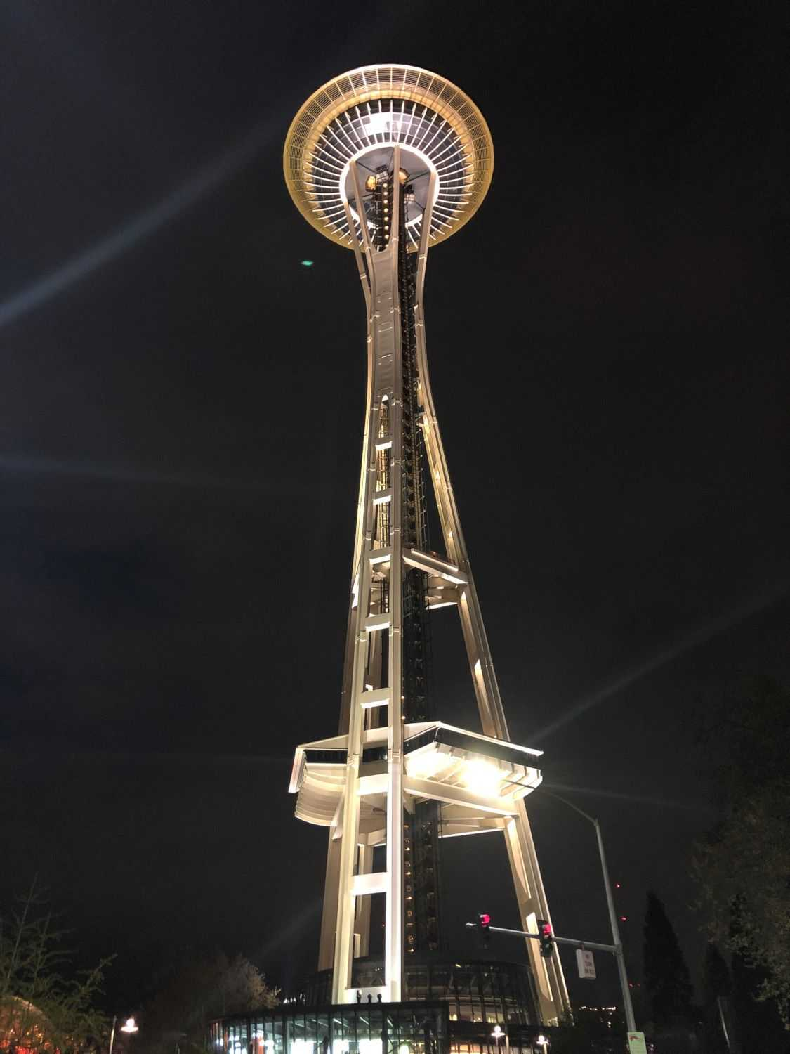 We walked by the Space Needle