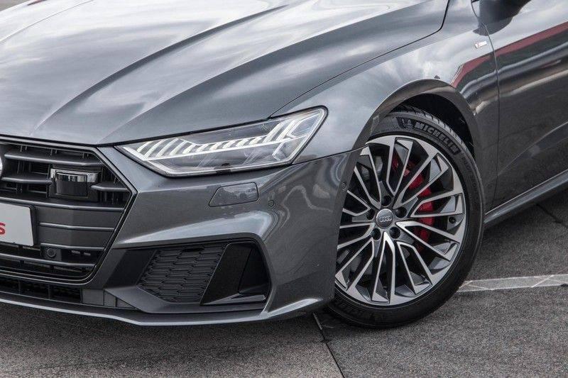 Audi A7 Sportback 55 TFSI e 367 pk Quattro Competition | Verlengde garantie | 2 x S-Line | Nachtzicht-assistent | panorama dak | Head-up display | Trekhaak | 360 camera | Stoelverwarming vóór en achter | afbeelding 4