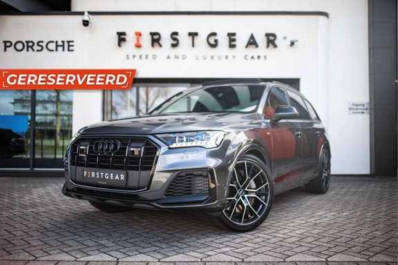 "Audi Q7 55 TFSI E Hybride Quattro *S-Line / 22"" / B&O 3D / Pano / HUD / Laser*"