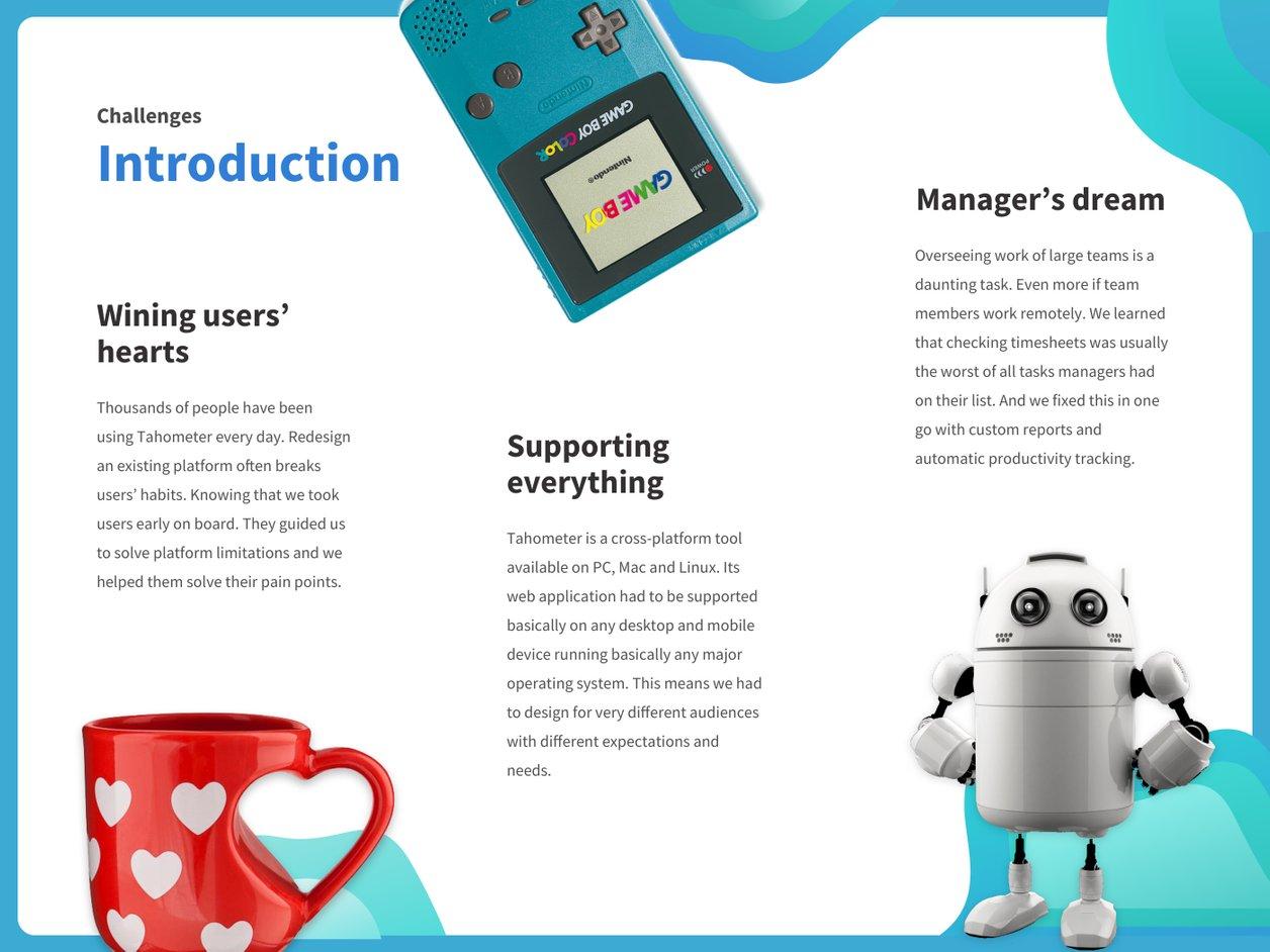 Design Problem - UX Design | Tahometer