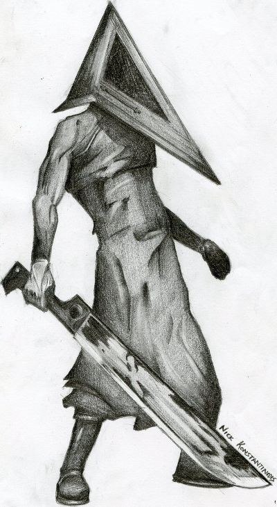 Pyramid Head Sketch