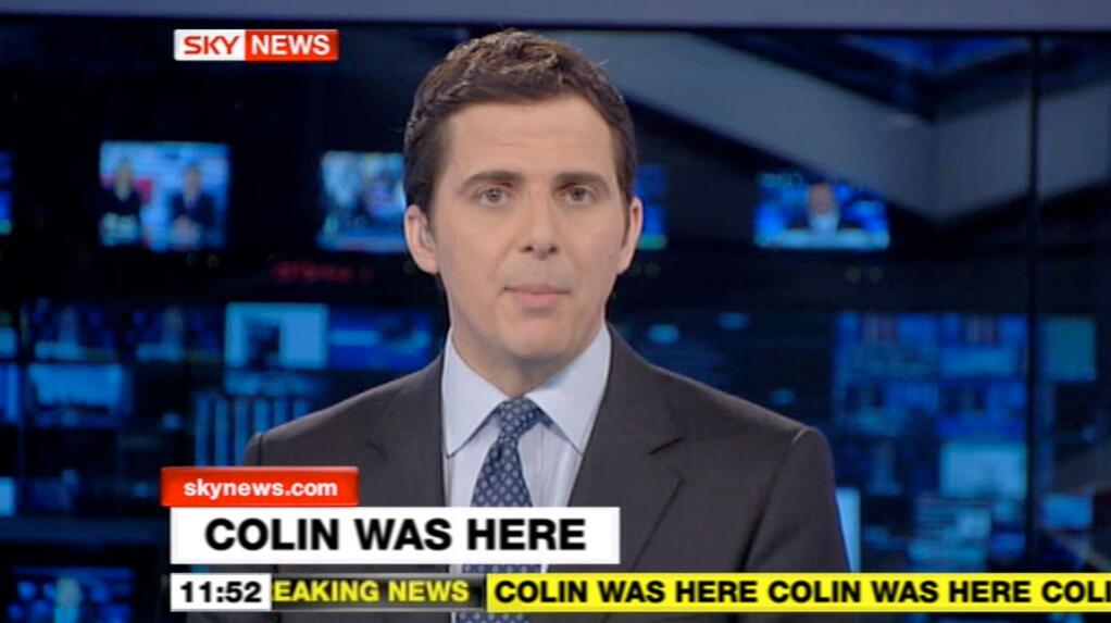 Colin Was Here