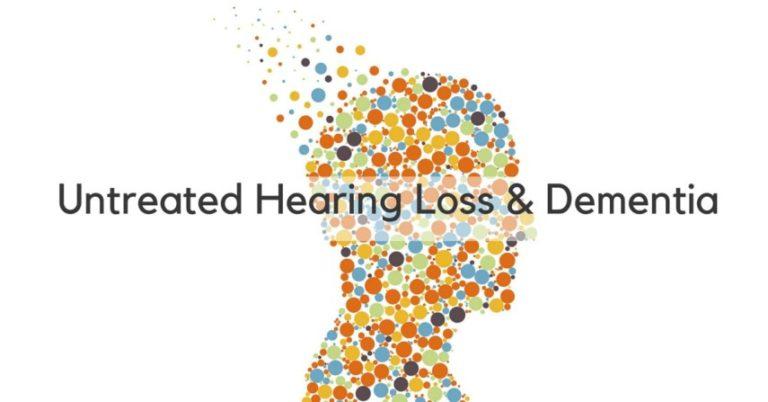 Untreated hearing loss & dimentia