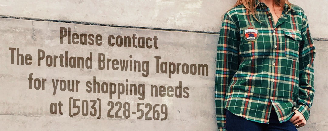 Contact the Portland Brewing Taproom for your shopping needs