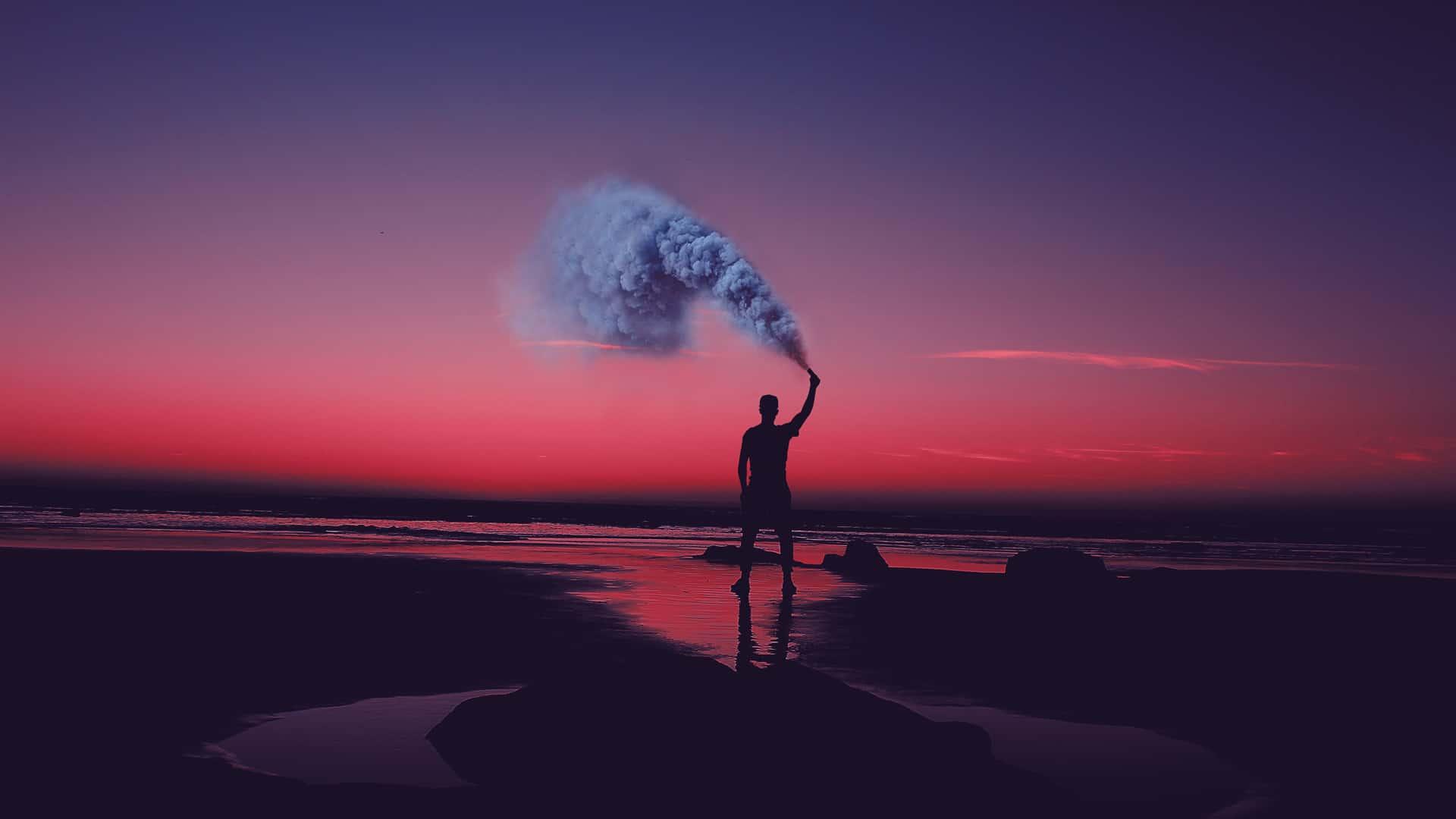 Popping Smoke