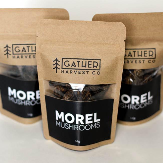 Dried Morel Packaging