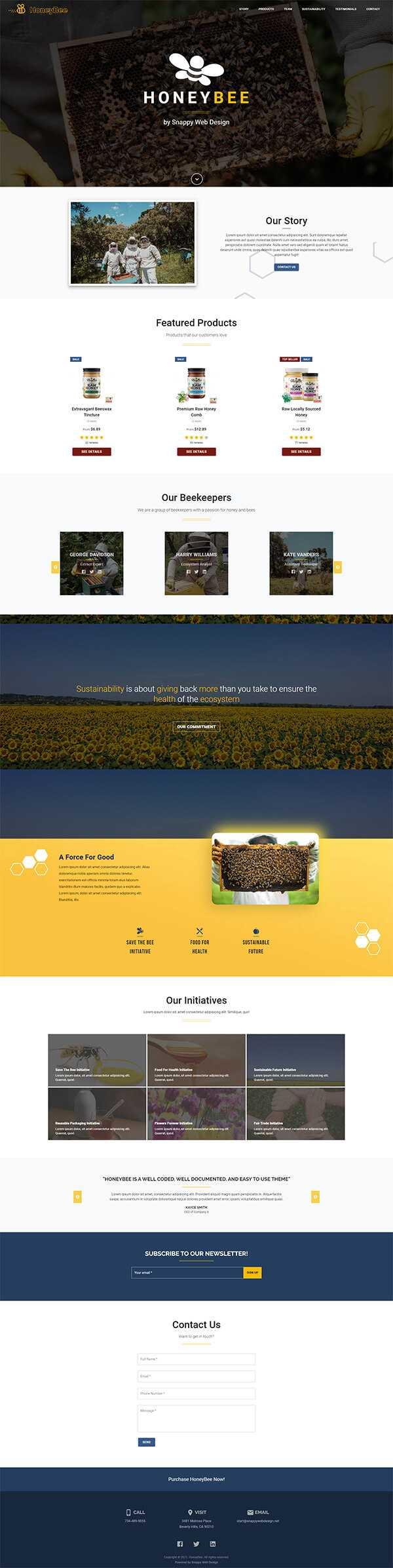 Honeybee Site