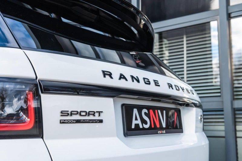 Land Rover Range Rover Sport P400e Autobiography Dynamic, 404 PK, Pano/Dak, Luchtvering, Adapt./Cruise, Soft/Close, 57DKM!! afbeelding 25