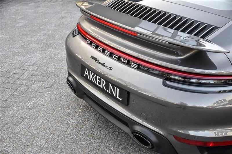 Porsche 911 TURBO S BURMESTER+LIFT+ACC+GLASDAK NP.305K afbeelding 15