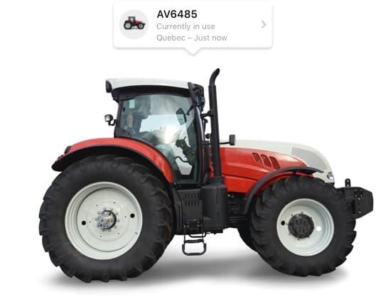 Tractor ca