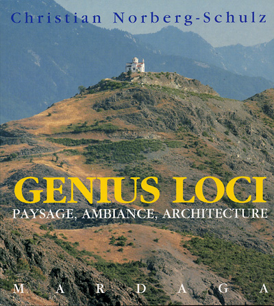 Fonte: NORBERG-SCHULZ, Christian. Genius Loci – Towards a phenomenology of architecture
