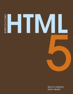 Book cover image Introducing HTML 5