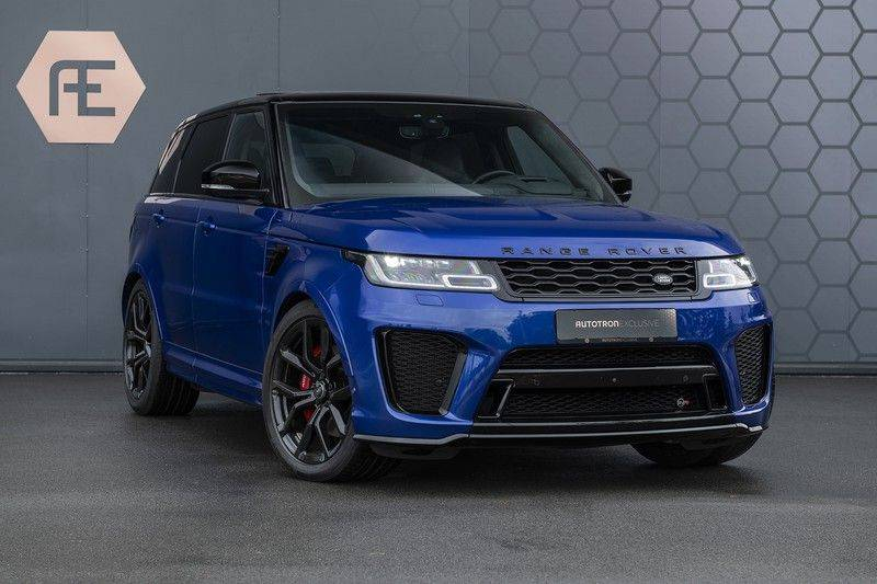 Land Rover Range Rover Sport SVR 5.0 V8 SC ESTORIL BLUE afbeelding 8