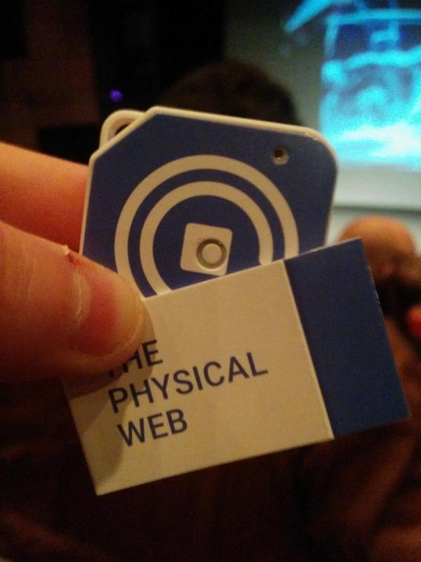 The experimental Physical Web device
