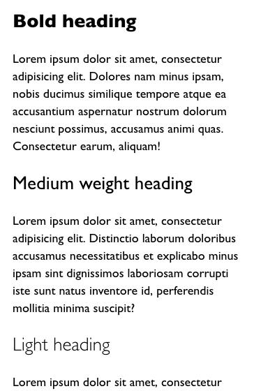 Gill Sans on macOS / iOS