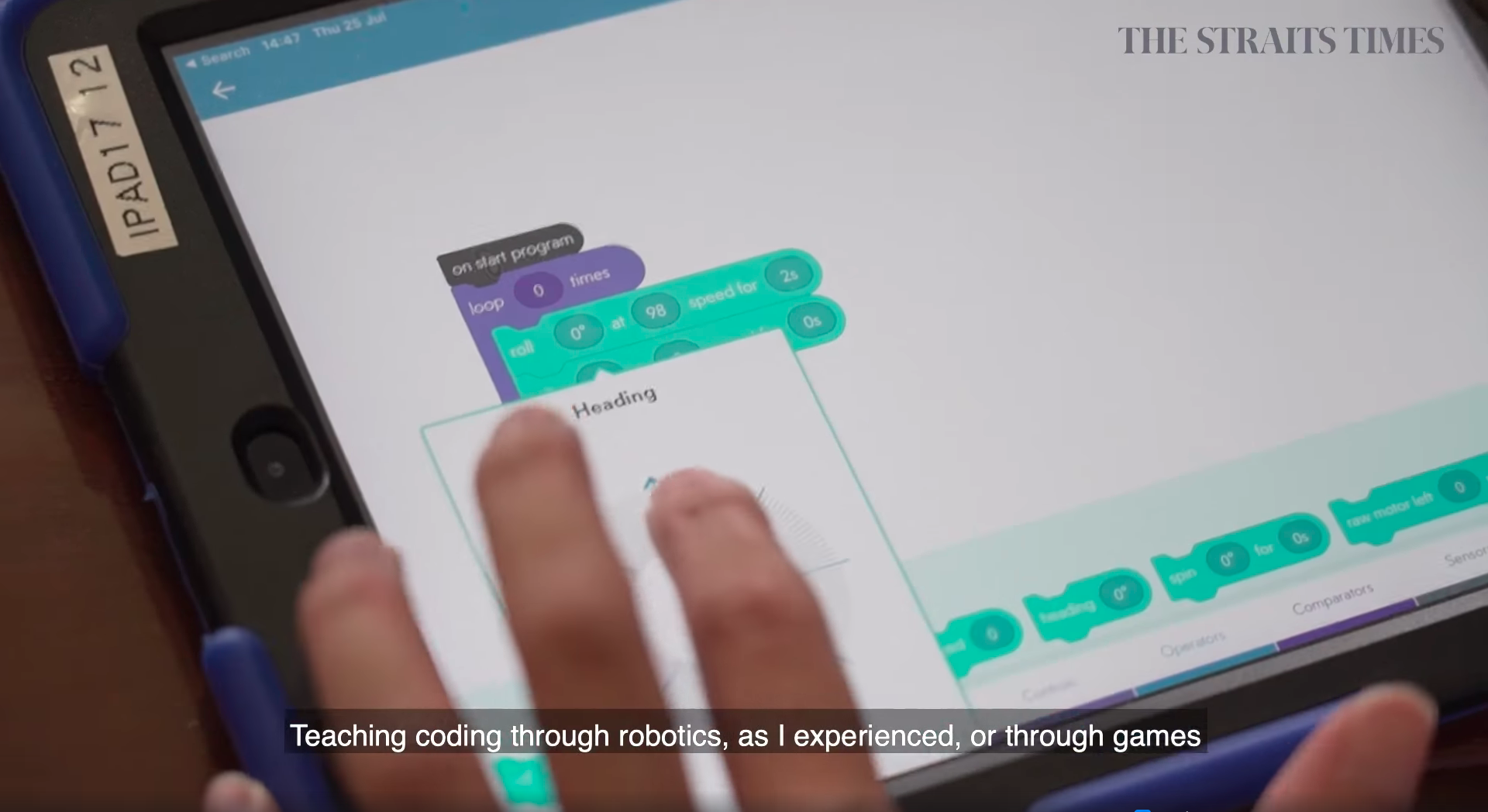 From next year, all upper primary school students will get to experience our Code For Fun enrichment programme. Curious to know what's in store? Click on the link below to watch a preview video by The Straits Times!