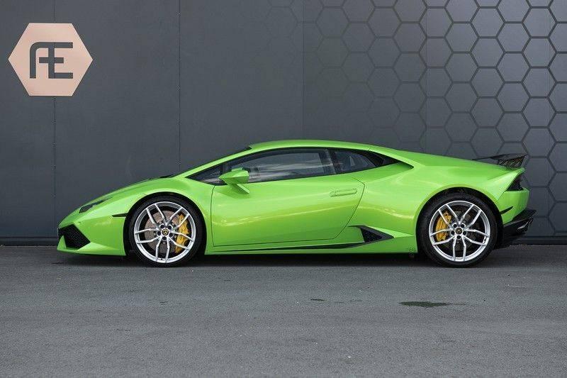 Lamborghini Huracan 5.2 V10 LP610-4 Blue Eye + Carbon Spoiler + LIFTING + Achteruitrijcamera afbeelding 5