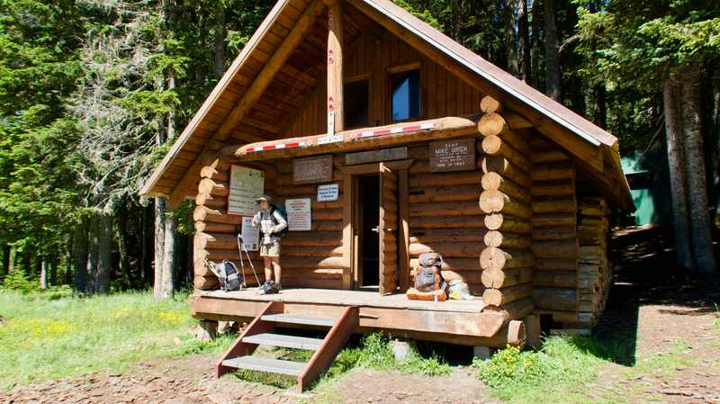 Mike Urich Cabin at Government Meadows