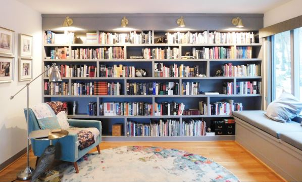 Customized bookcase