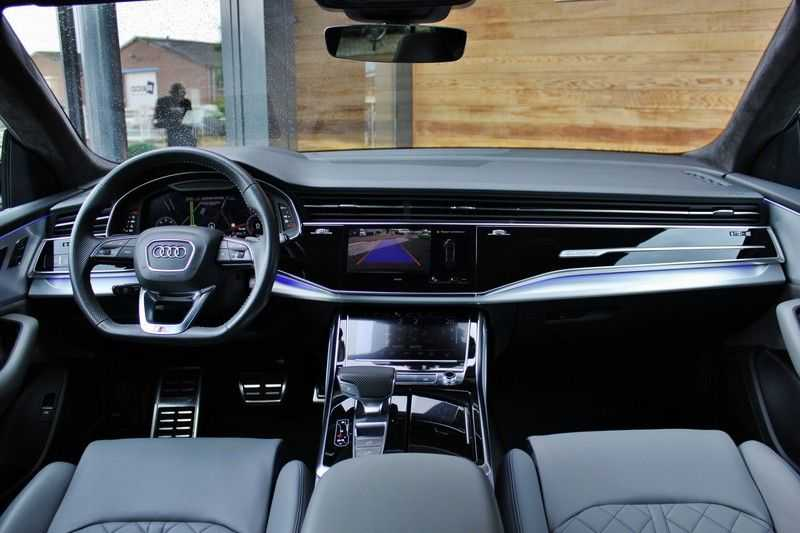 Audi Q8 50 TDI Quattro 3x S-Line 3.0 V6 286pk **HUD/Luchtvering/ACC/Elek.Trekhaak/B&O/Matrix.LED** afbeelding 13