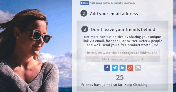 Northwood Sunglasses gets 50% conversion rate - no coding required