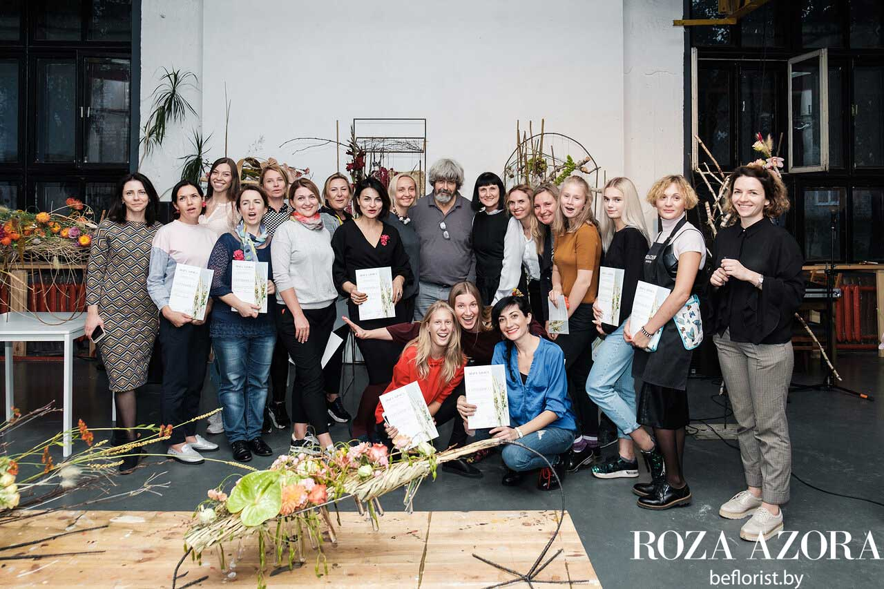 Ученики Грегора Лерша на семинаре в Минске