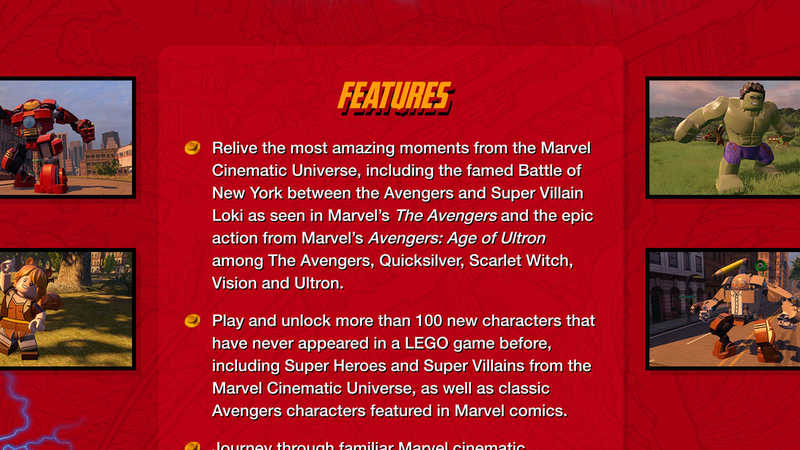 LEGO® Marvel's Avengers for Mac   Feral Interactive