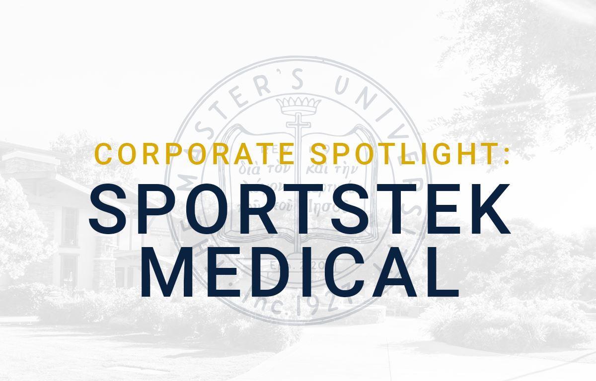 Corporate Spotlight: Sportstek Medical