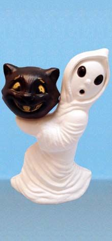 """Friendliest Ghost"" Carrying 4"" ""Cat-O-Lantern"" photo"