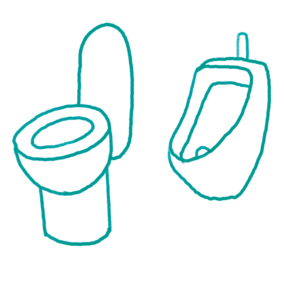 Wo kann ich auf Toilette gehen, wenn ich mich keinem Geschlecht eindeutig zuordne?