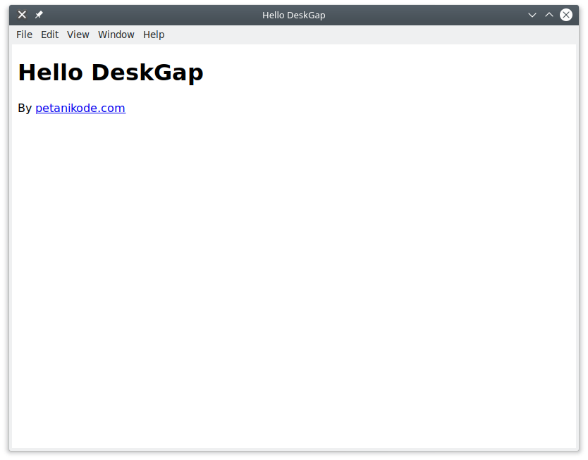 DeskGap Demo