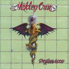 Mötley Crüe Dr. Feelgood album cover
