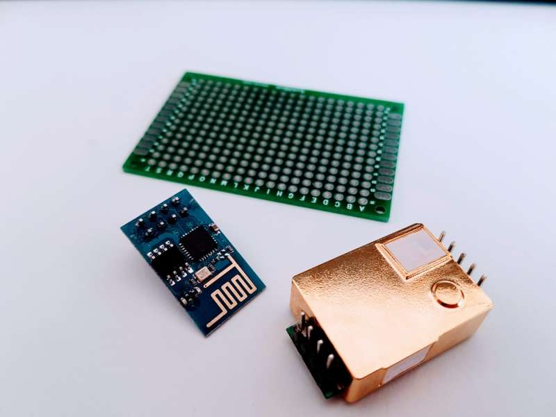 Carbon Dioxide Sensor MH-Z19b - Part 1 - Prototype