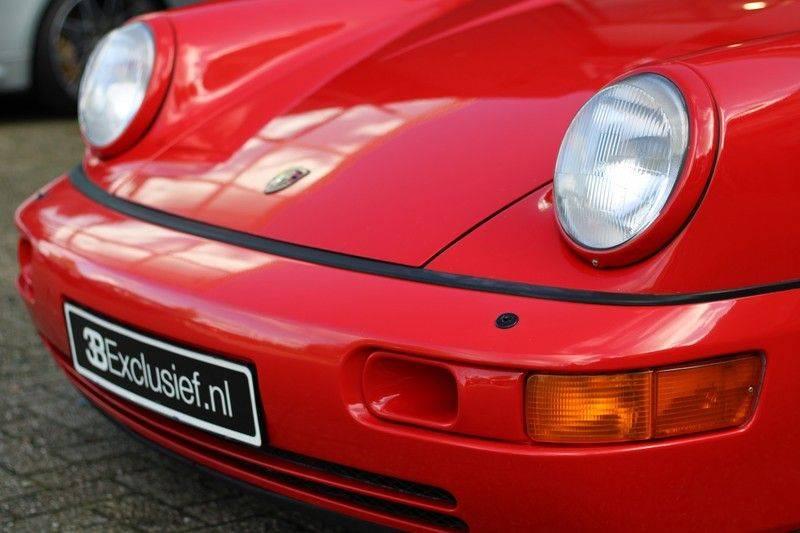 Porsche 911 964 Carrera 2 Historie bekend, Airco, Schuifdak, Leder interieur, Achterruitenwisser afbeelding 6