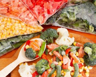 Բանջարեղենի սառեցում