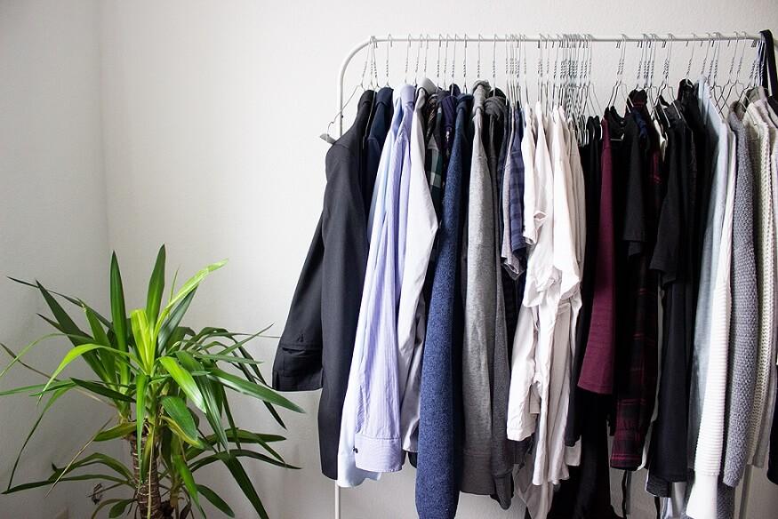 Klamotten aussortieren