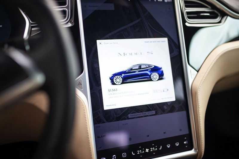 """Tesla Model S 85D Base *Pano / 21"""" / Prijs ex. BTW* afbeelding 2"""