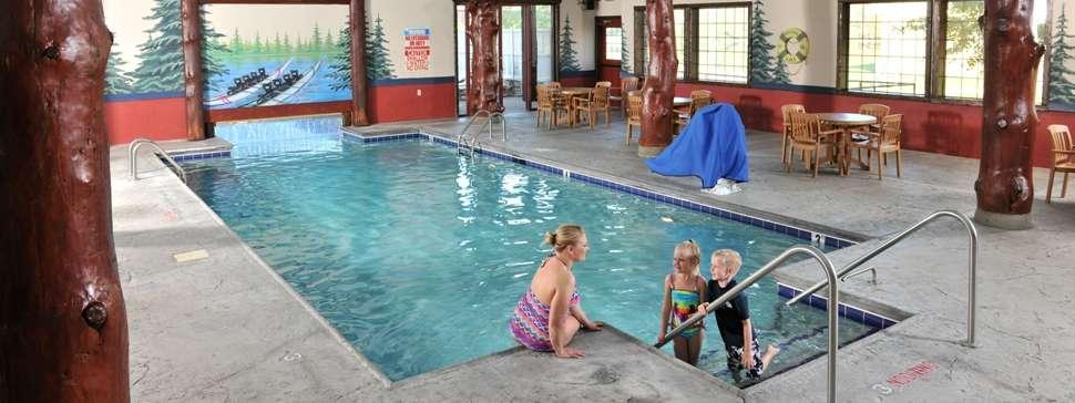Indoor/Outdoor Swiming Pool