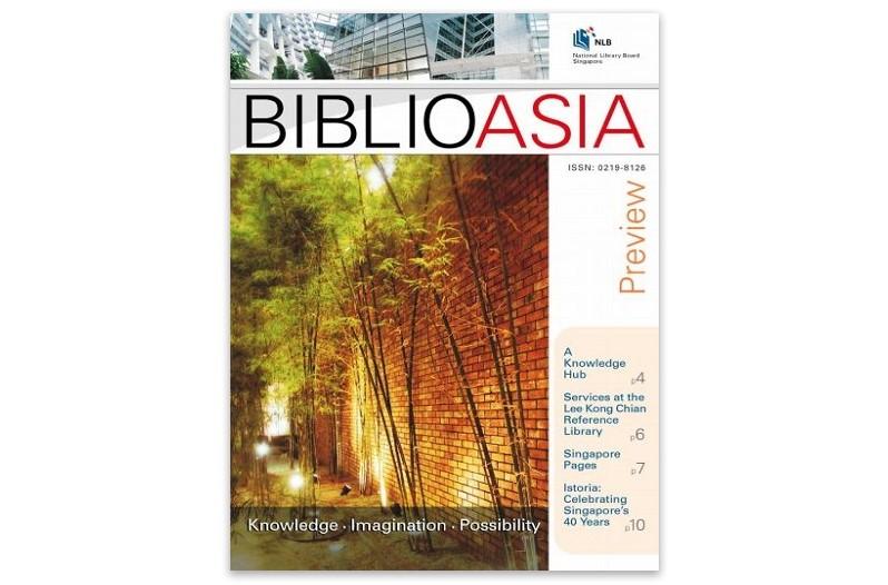 BiblioAsia inaugural issue cover
