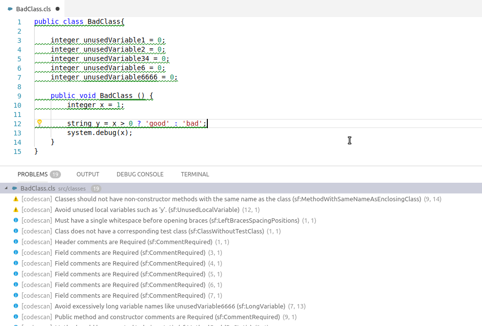 CodeScan :: The Code Analysis Tool for Salesforce