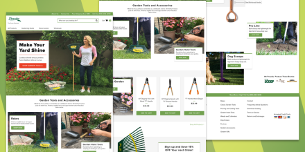 Flexrake® - Custom Shopify Site