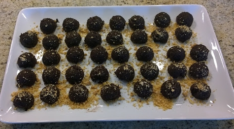 Adzuki Bean Chocolate Balls