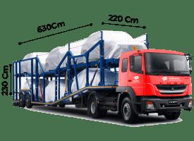 TrawlTruck - Trailer Car Carrier \<