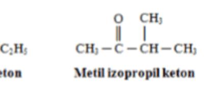 Karbonil Bileşikleri: Ketonlar
